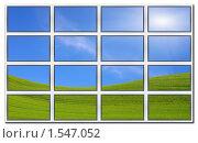 Купить «Много плоских экранов», фото № 1547052, снято 1 ноября 2009 г. (c) Владимир Овчинников / Фотобанк Лори
