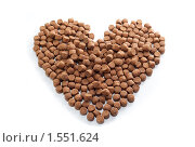 Собачье сердце. Сухой корм. Стоковое фото, фотограф ФЕДЛОГ / Фотобанк Лори