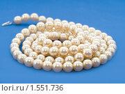 Купить «Жемчужные бусы», фото № 1551736, снято 14 марта 2010 г. (c) Asja Sirova / Фотобанк Лори