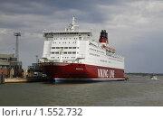 Купить «Паром Viking Line в Хельсинки», фото № 1552732, снято 7 августа 2009 г. (c) Андрей Ерофеев / Фотобанк Лори