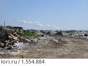 Большая городская свалка. Стоковое фото, фотограф Сушкова Евгения / Фотобанк Лори