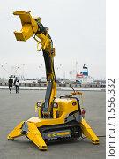 Купить «Механическая рука-манипулятор», фото № 1556332, снято 17 апреля 2009 г. (c) Кекяляйнен Андрей / Фотобанк Лори