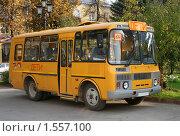 Купить «Школьный автобус», фото № 1557100, снято 4 октября 2008 г. (c) Art Konovalov / Фотобанк Лори
