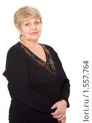 Купить «Женщина средних лет», фото № 1557764, снято 6 февраля 2010 г. (c) Ольга Сапегина / Фотобанк Лори