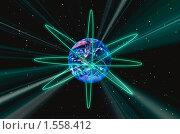 Планета Земля. Стоковая иллюстрация, иллюстратор Кирилл Пирязев / Фотобанк Лори