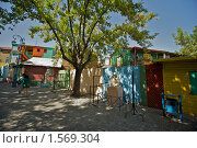 Купить «Улицы в La Boca, Буэнос Айрес», фото № 1569304, снято 14 марта 2010 г. (c) А. Клипак / Фотобанк Лори