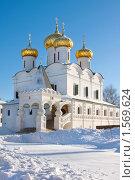 Купить «Троицкий собор  Свято -Троицкого Ипатьевского монастыря», фото № 1569624, снято 20 декабря 2009 г. (c) ElenArt / Фотобанк Лори