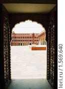 Купить «Дворец в Джайпуре», эксклюзивное фото № 1569640, снято 10 апреля 2020 г. (c) Free Wind / Фотобанк Лори