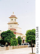 Купить «Башня в Джайпуре», эксклюзивное фото № 1569644, снято 10 апреля 2020 г. (c) Free Wind / Фотобанк Лори