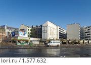 Купить «Рига. Центр. Остановка маршрутного такси.», фото № 1577632, снято 20 марта 2010 г. (c) Андрей Лабутин / Фотобанк Лори