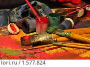 Купить «Всё для картины», фото № 1577824, снято 24 марта 2010 г. (c) Никонор Дифотин / Фотобанк Лори