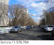 Купить «3-я Рощинская улица. Москва», эксклюзивное фото № 1578704, снято 17 марта 2010 г. (c) lana1501 / Фотобанк Лори