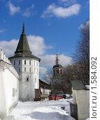 Купить «Москва. Свято-Данилов монастырь», эксклюзивное фото № 1584092, снято 17 марта 2010 г. (c) lana1501 / Фотобанк Лори