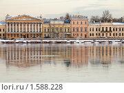 Купить «Набережная Невы. Санкт-Петербург», эксклюзивное фото № 1588228, снято 25 марта 2010 г. (c) Александр Алексеев / Фотобанк Лори