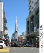 Купить «Самый высокий небоскреб Сан-Франциско», фото № 1590136, снято 5 февраля 2008 г. (c) Валентина Троль / Фотобанк Лори