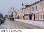 Купить «Муром центр зима», фото № 1592492, снято 5 января 2010 г. (c) Николай Богоявленский / Фотобанк Лори