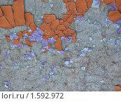 Старая окрашенная поверхность. Стоковое фото, фотограф Вера Власенко / Фотобанк Лори