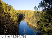 """Купить «Парк """"Оленьи ручьи""""», фото № 1594792, снято 3 октября 2008 г. (c) Дмитрий Ковязин / Фотобанк Лори"""