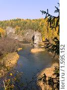 """Купить «Национальный парк """"Оленьи ручьи""""», фото № 1595152, снято 3 октября 2008 г. (c) Дмитрий Ковязин / Фотобанк Лори"""