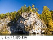 """Купить «Национальный парк """"Оленьи ручьи""""», фото № 1595156, снято 3 октября 2008 г. (c) Дмитрий Ковязин / Фотобанк Лори"""