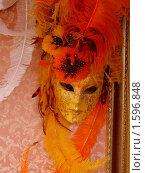 Купить «Венецианская маска», фото № 1596848, снято 6 сентября 2006 г. (c) Марина Чиркова / Фотобанк Лори