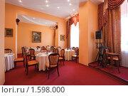 Купить «Интерьер ресторана», эксклюзивное фото № 1598000, снято 10 апреля 2008 г. (c) Иван Сазыкин / Фотобанк Лори