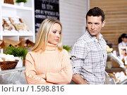 Купить «Ссора в магазине», фото № 1598816, снято 23 февраля 2010 г. (c) Raev Denis / Фотобанк Лори