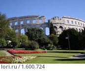 Купить «Амфитеатр в Хорватии», фото № 1600724, снято 11 сентября 2006 г. (c) Марина Чиркова / Фотобанк Лори