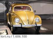 Купить «Музей автомобилей,Beetle, Вольфсбург», фото № 1606100, снято 27 ноября 2009 г. (c) А. Клипак / Фотобанк Лори