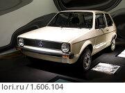 Купить «Музей автомобилей,Golf, Вольфсбург», фото № 1606104, снято 27 ноября 2009 г. (c) А. Клипак / Фотобанк Лори