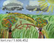 Деревья. Стоковая иллюстрация, иллюстратор Мирослав Лавренцов / Фотобанк Лори