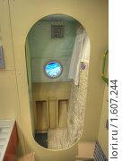 Купить «Спальное помещение станции МИР», фото № 1607244, снято 27 марта 2010 г. (c) Вадим Закревский / Фотобанк Лори