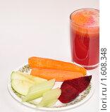 Купить «Овощной сок», фото № 1608348, снято 5 апреля 2010 г. (c) Макарова Елена / Фотобанк Лори