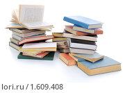 Купить «Груда книг», фото № 1609408, снято 14 марта 2010 г. (c) Валерий Александрович / Фотобанк Лори