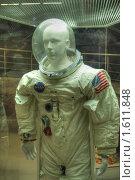 Купить «Костюм американского астронавта Collins», фото № 1611848, снято 27 марта 2010 г. (c) Вадим Закревский / Фотобанк Лори