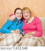Купить «Портрет двух счастливых женщин», фото № 1612540, снято 23 января 2010 г. (c) Яков Филимонов / Фотобанк Лори