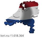 Купить «Нидерланды Голландия Карта Страны Флаг», иллюстрация № 1618364 (c) Савельев Андрей / Фотобанк Лори