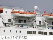 Купить «Спасательные шлюпки парома Viking Line», фото № 1618432, снято 7 августа 2009 г. (c) Андрей Ерофеев / Фотобанк Лори