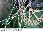 Велосипедный дисковый тормоз. Стоковое фото, фотограф Алексей Калистратов / Фотобанк Лори