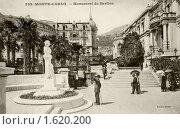 Купить «Монте-Карло. Памятник Берлиозу. Монако», фото № 1620200, снято 30 марта 2020 г. (c) Юрий Кобзев / Фотобанк Лори