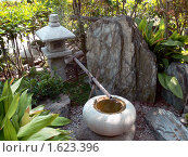 Японский сад. Редакционное фото, фотограф Олег Фафурин / Фотобанк Лори