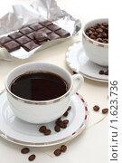 Купить «Кофе и шоколад», фото № 1623736, снято 12 апреля 2010 г. (c) Дорощенко Элла / Фотобанк Лори