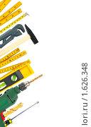 Купить «Рабочие инструменты», фото № 1626348, снято 20 сентября 2018 г. (c) Яков Филимонов / Фотобанк Лори