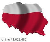 Купить «Польша карта страна флаг», иллюстрация № 1628480 (c) Савельев Андрей / Фотобанк Лори