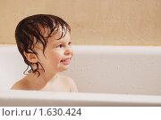 Купить «Мальчик купается в ванной», фото № 1630424, снято 17 августа 2009 г. (c) Влад  Плотников / Фотобанк Лори