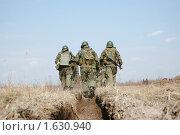 Купить «Отряд уходит в бой», фото № 1630940, снято 15 апреля 2010 г. (c) Андрей Ярцев / Фотобанк Лори