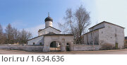 Купить «Церковь Козьмы и Дамиана с Примостья в Пскове», фото № 1634636, снято 10 апреля 2010 г. (c) Валентина Троль / Фотобанк Лори