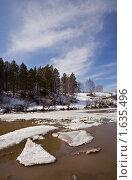 Купить «Весна на реке Белой (Агидель)», фото № 1635496, снято 10 апреля 2010 г. (c) Евгений Прокофьев / Фотобанк Лори