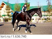 Купить «Верхом», фото № 1636740, снято 10 апреля 2010 г. (c) Хайрятдинов Ринат / Фотобанк Лори