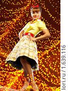 Купить «Девушка стиляга», фото № 1639116, снято 29 июня 2009 г. (c) Роман Махмутов / Фотобанк Лори